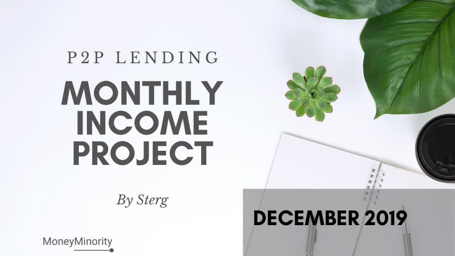 P2P Lending Monthly Income Project by Sterg - Report Δεκέμβριος 2019