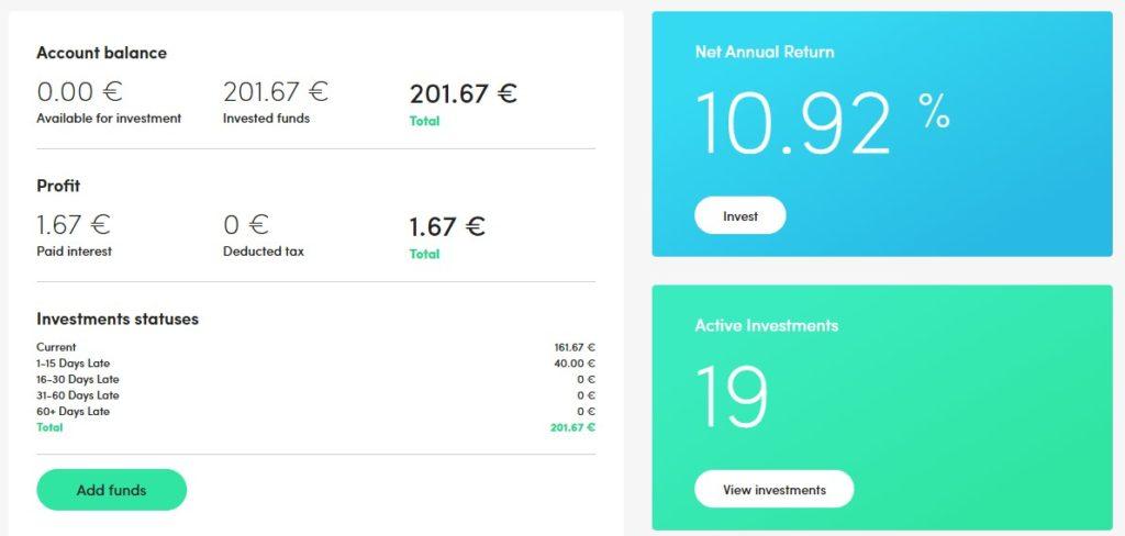 PeerBerry Income Report - December 2019 - MoneyMinority Project