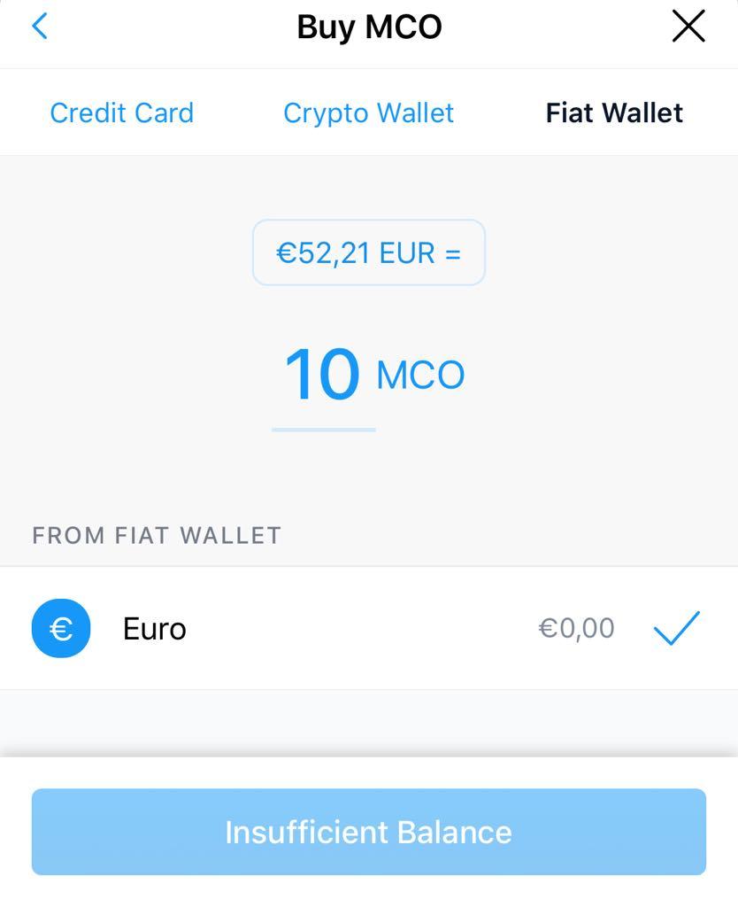 Achetez de la crypto-monnaie avec de l'argent fiat sur crypto.com