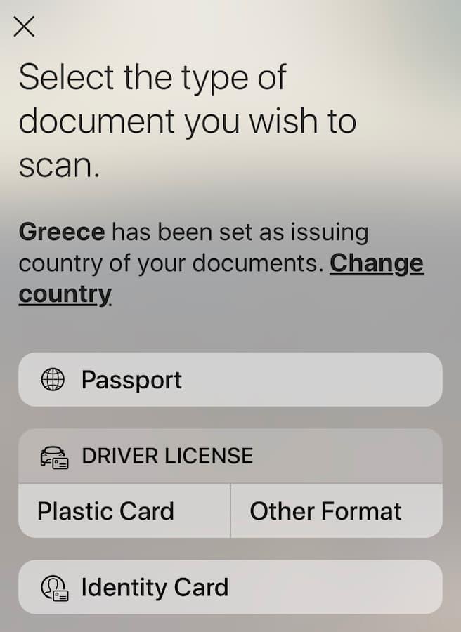 Documents d'identification officiels pour la vérification de Crypto.com