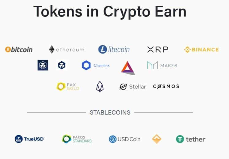 Coins à la fonction Invest
