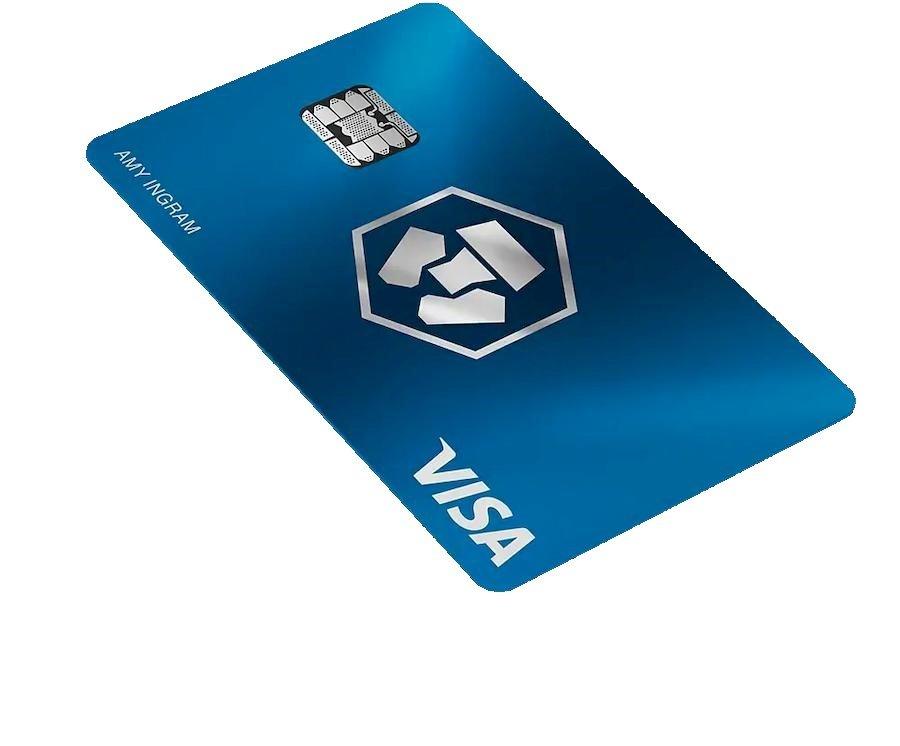 Midnight Blue Crypto Carte | Gratuite