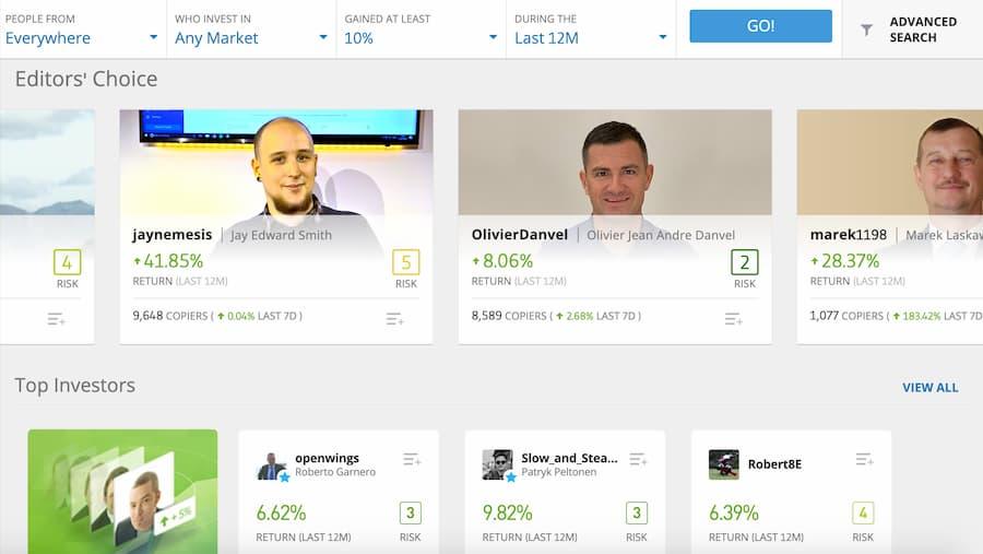 Come scegliere l'Investitore adatto da copiare?
