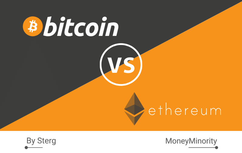 Bitcoin vs Ethereum | Διαφορές και Ομοιότητες [με Infographic]