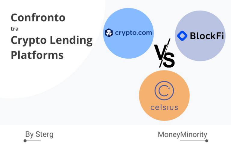 Celsius.Network, BlockFi & Crypto.com_ Confronto tra Crypto Lending [2021]