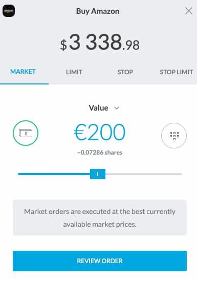Acquisto Azioni su Trading212