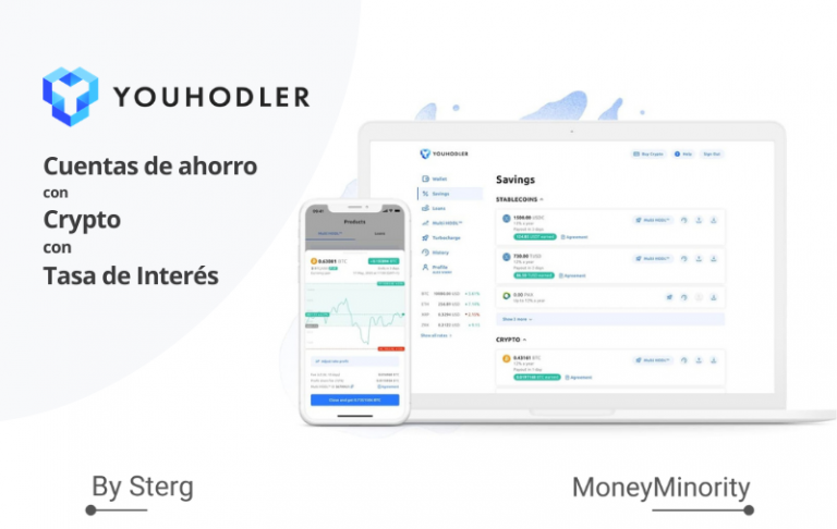 YouHodler_ Cuentas de ahorro con Crypto con Tasa de Interés [España]